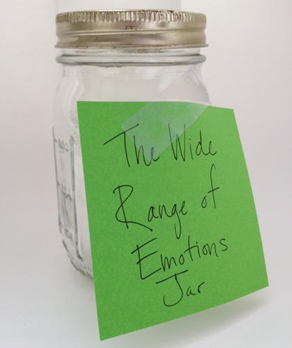 Wide Range of Emotions Jar