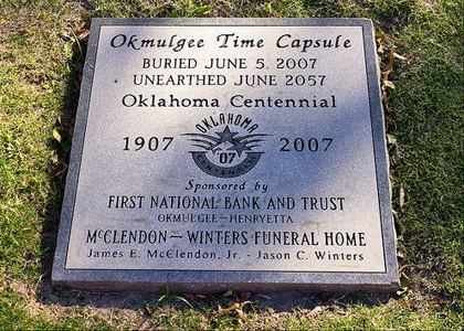 Time Capsule Oklahoma