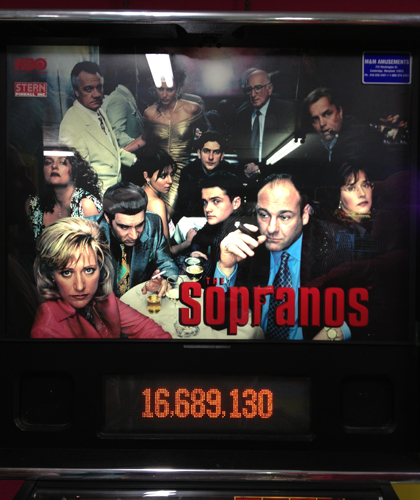 Sopranos Pinball Machine