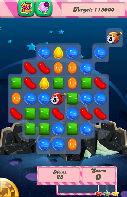 Candy Crush Level 35 Cant Get Enough Points