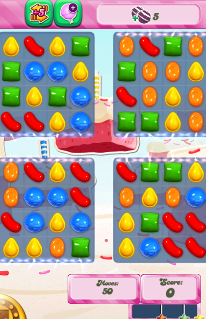 Candy Crush Level 356