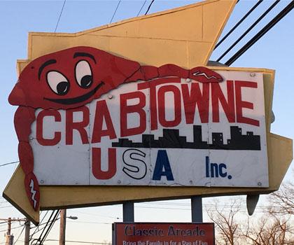 crab towne usa arcade