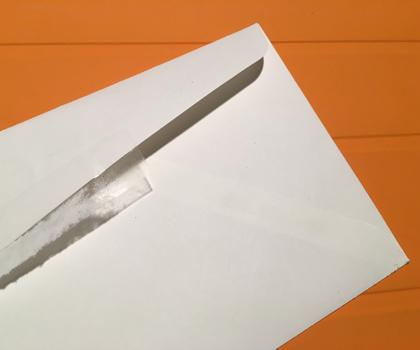 thin envelope