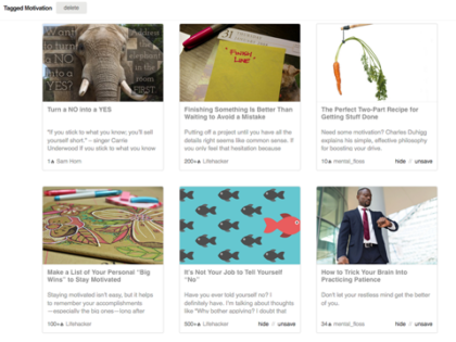 Feedly Knowledge Boards